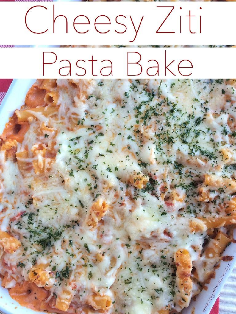 Cheesy Ziti Pasta Bake