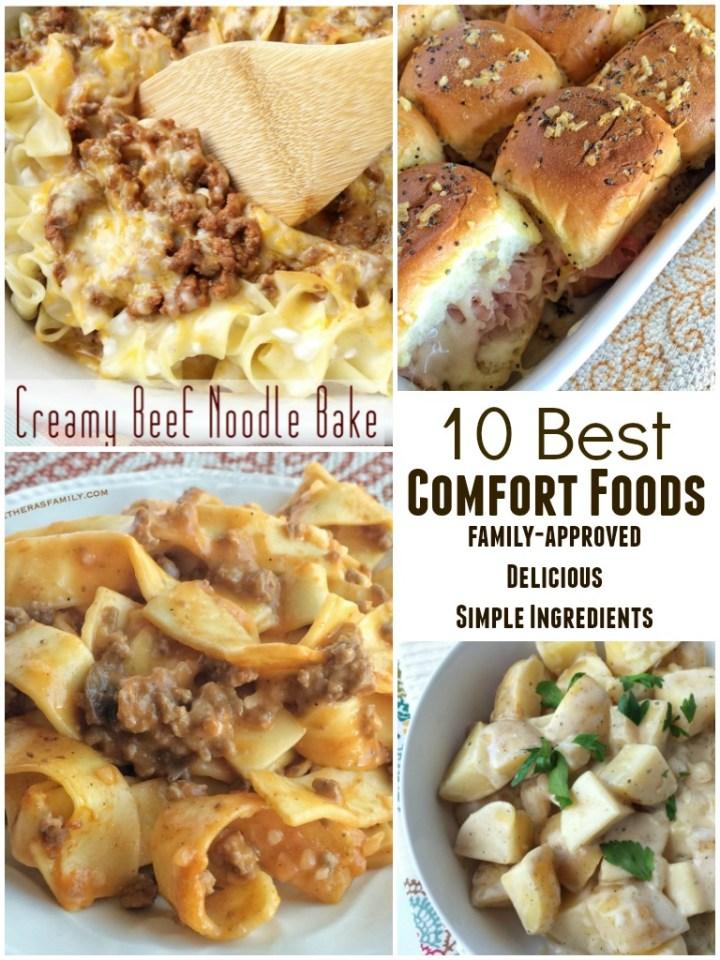 10 BEST COMFORT FOODS