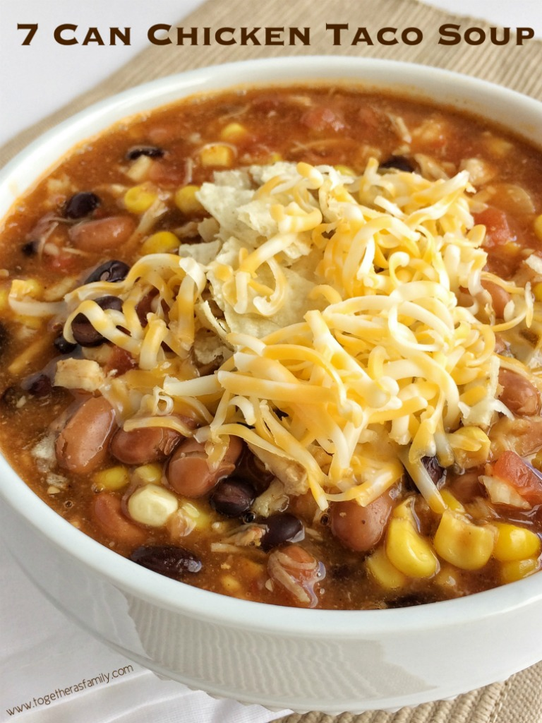 7 can chicken taco soup together as family forumfinder Images