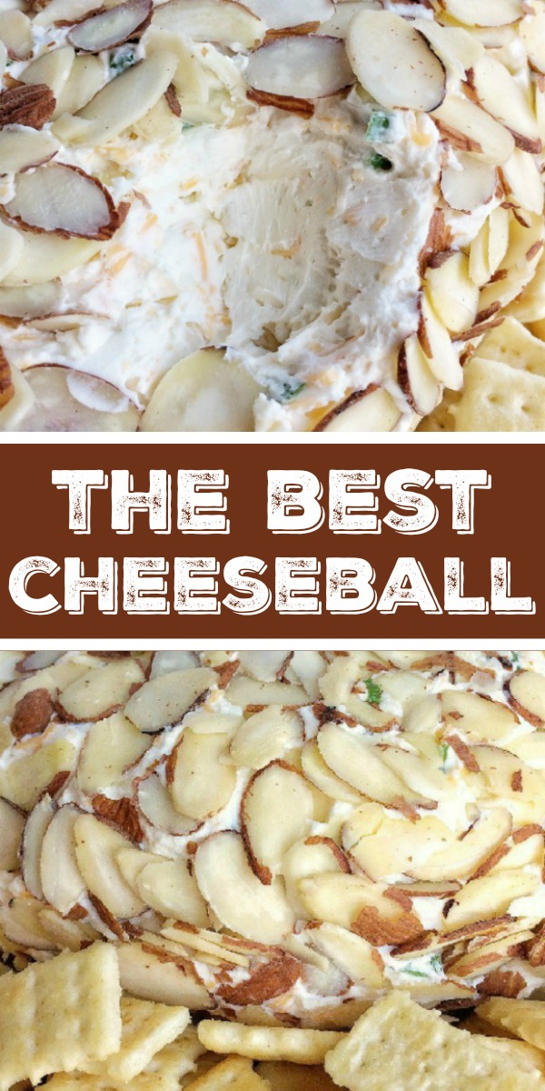 The Best Cheeseball | Cheeseball Recipe | Appetizer | The best classic cheeseball takes just minutes to make and it's creamy, smooth, and so delicious. Serve with your choice of crackers and you have a yummy appetizer for any gathering or party. #appetizer #appetizerrecipe #cheeseball #dip