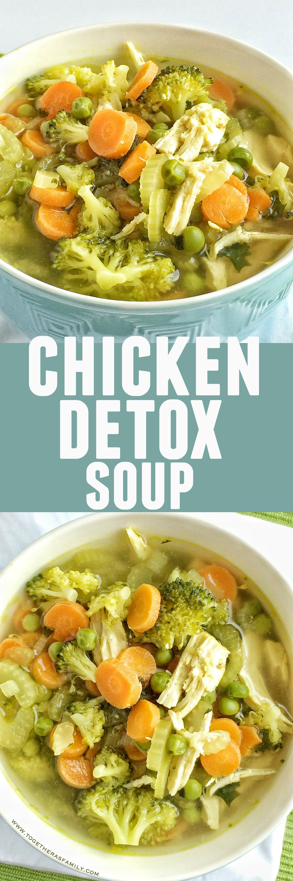 Chicken detox soup together as family save this recipe for later and pin it to pinterest forumfinder Gallery