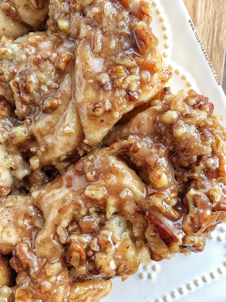 Easy Overnight Caramel Pecan Cinnamon Rolls - Together as ...
