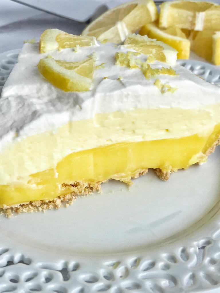 Easy Lemon Cake Lemon Pudding Cool Whip