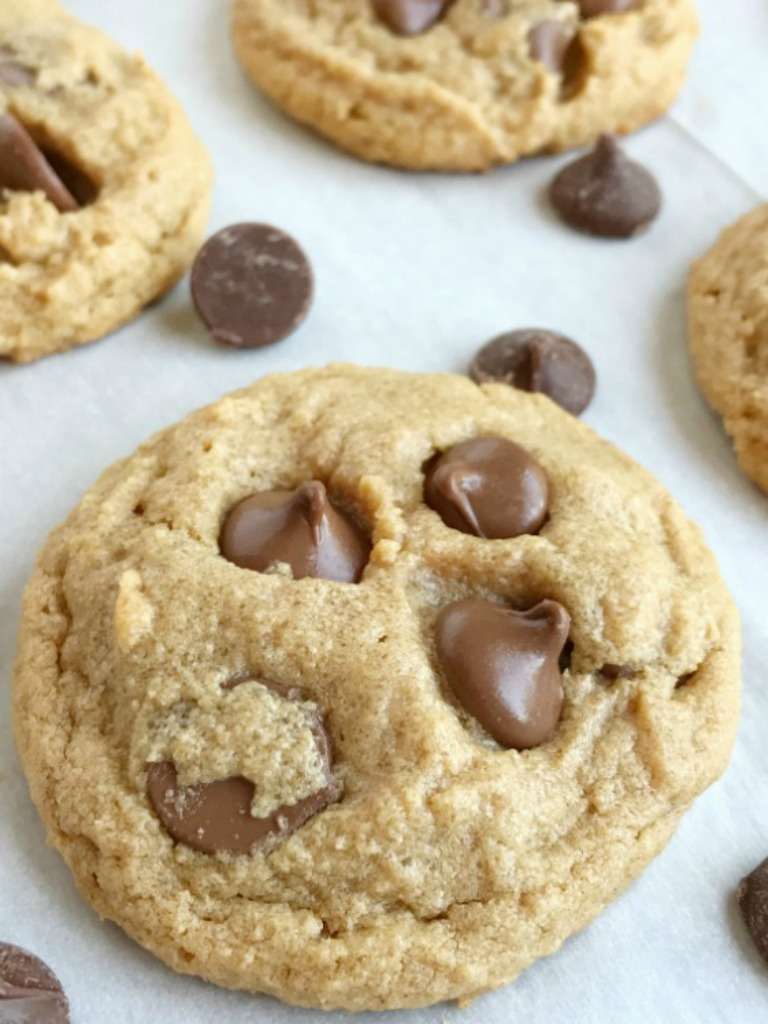 Melty Chocolate Chip Cookies