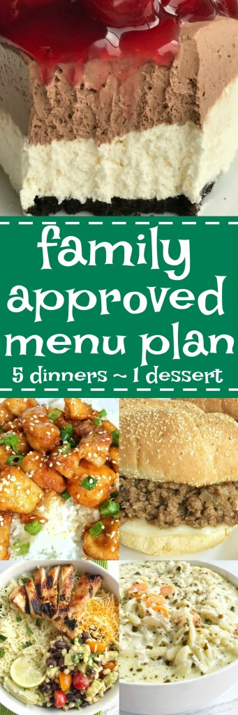Family menu plan that everyone will love! These have all been kitchen tested over and over again, and will help you get dinner on the table. Easy, family approved, simple ingredients, and delicious food to enjoy together | togetherasfamily.com