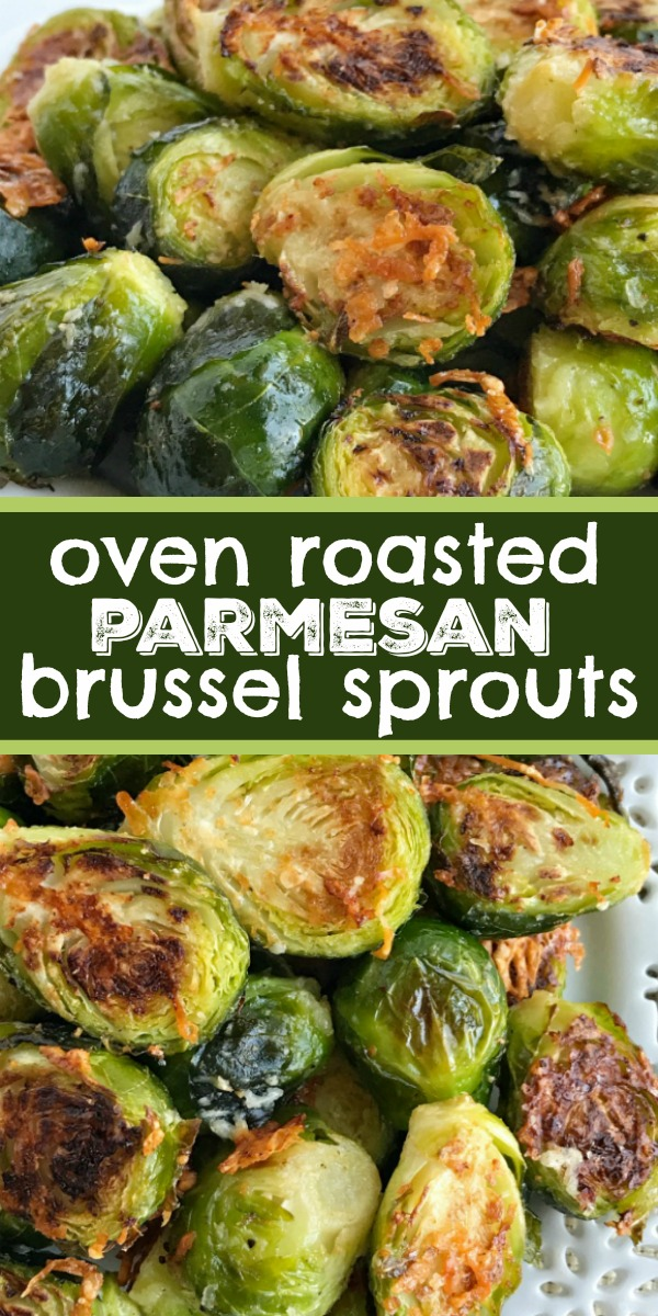 Oven Roasted Parmesan Brussel Sprouts | Brussel Sprouts Recipe | Side Dish Recipe| Oven roasted parmesan Brussel sprouts are a quick & easy 20 minute side dish that are healthy and delicious. Only a few simple ingredients to the best Brussel sprouts that are bursting with flavor. #sidedish #brusselsprouts #holidayrecipe #easyrecipe