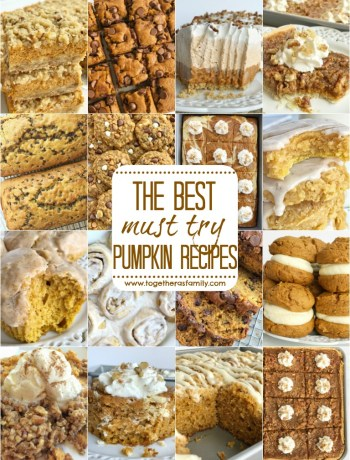 The best pumpkin recipes for Fall | www.togetherasfamily.com #pumpkinrecipes #pumpkinspice #pumpkin #pumpkinbreadrecipes