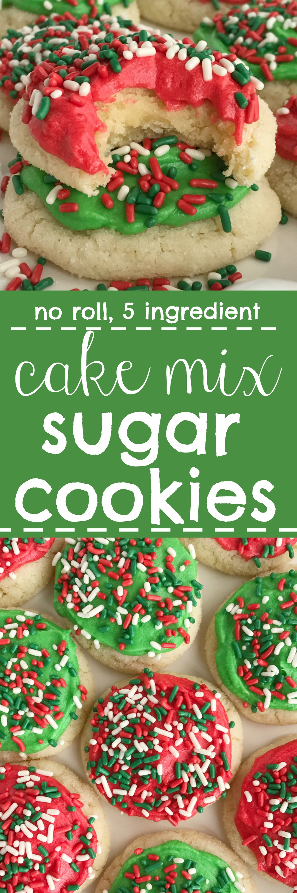 Ingredient Cake Mix Cookies