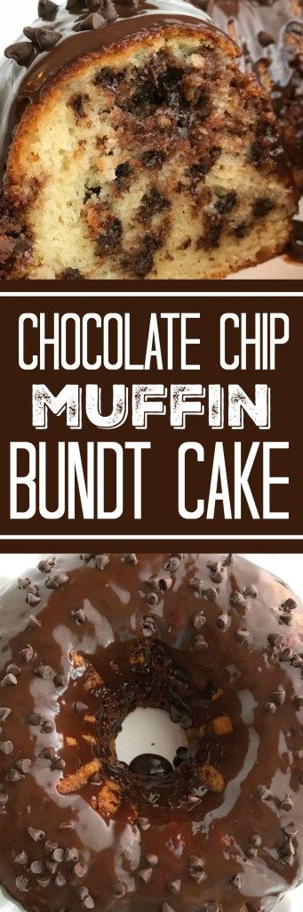 Chocolate Chip Muffin Bundt Cake | Chocolate Cake | Chocolate Chip Muffins | Dessert Recipe | Easy Recipes | Together as Family #dessertrecipes #chocolate #chocolaterecipes #chocolatechipmuffins #bundtcakerecipes #bundtcake