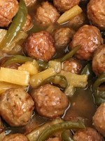 Slow Cooker Sweet and Sour Meatballs are an easy & simple dinner that even the kids will gobble up. Prepared frozen meatballs combine with an easy homemade sweet & sour sauce. Serve over rice for a delicious Asian-inspired dinner.