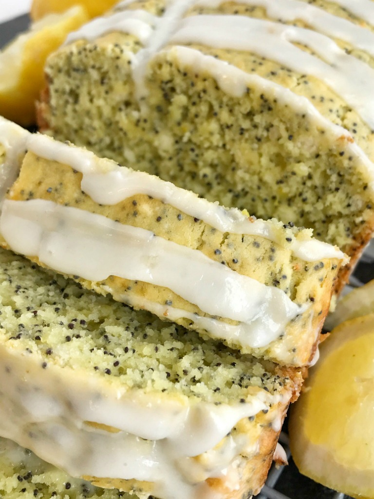 Lemon Pudding Poppyseed Bread   Sweet Bread Recipe   No yeast bread recipes   Quick & easy lemon pudding poppyseed bread is bursting with bright lemon flavor, poppyseeds, with a sweet glaze. A secret ingredient, lemon pudding mix, that makes this bread so moist and delicious. Now you can enjoy lemon poppyseed bread using convenient and easy ingredients.