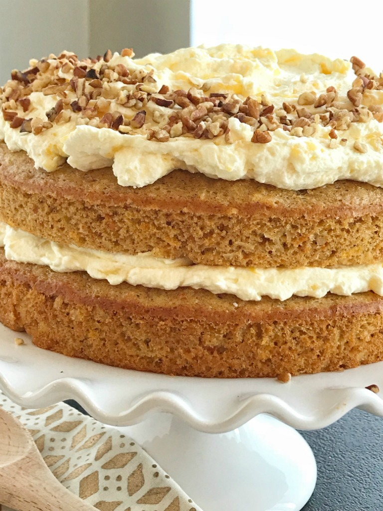 Boxed Carrot Cake With Pudding Mix