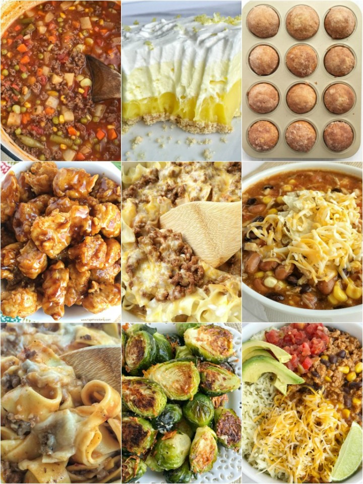 Top 10 Recipes of 2018 on Together as Family   Here are the top 10 recipes from 2018 that you all visited the most! These top recipes have been made multiple times in my own home and it truly makes me happy that they are also being made in your homes and loved as well. #recipes #bestrecipes #toprecipes #recipeoftheday