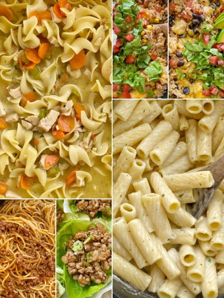 A collection of quick dinner recipes