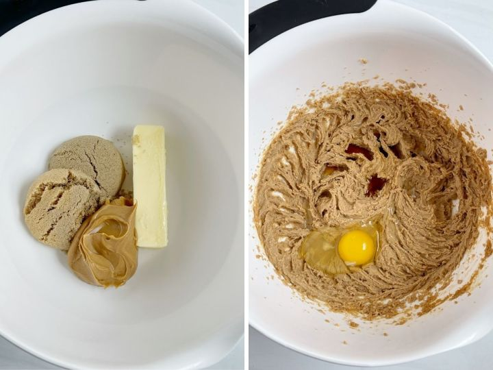 How to make peanut butter monster cookie with step by step pictures