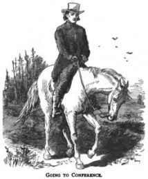 circuit rider, frontier preacher, early America