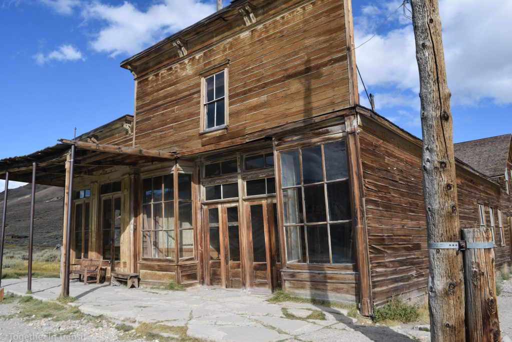 Another store front at Bodie State Park, California