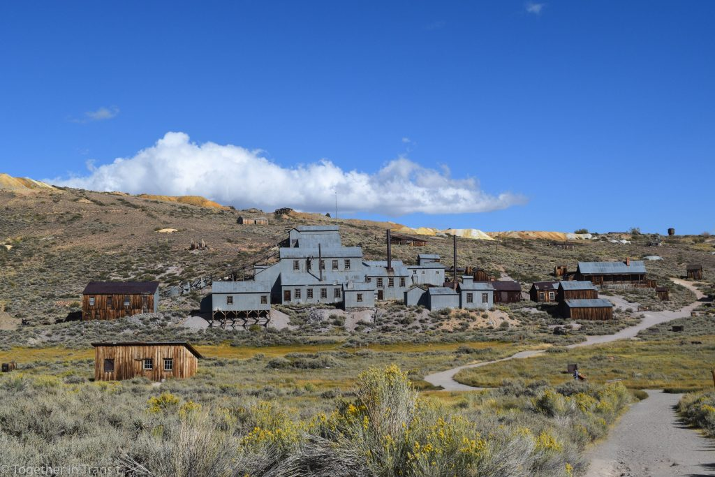 The mine at Bodie State Park, California