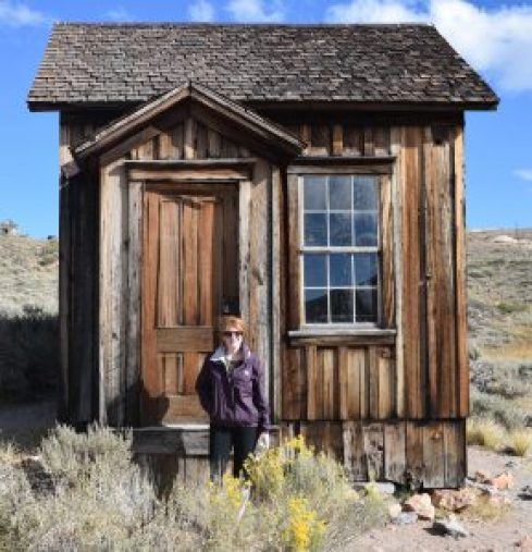 Abandoned little house at Bodie State Park, California