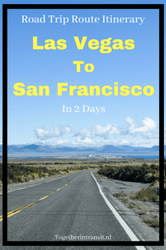 Road Trip Itinerary from Las Vegas to San Francisco in 2 days