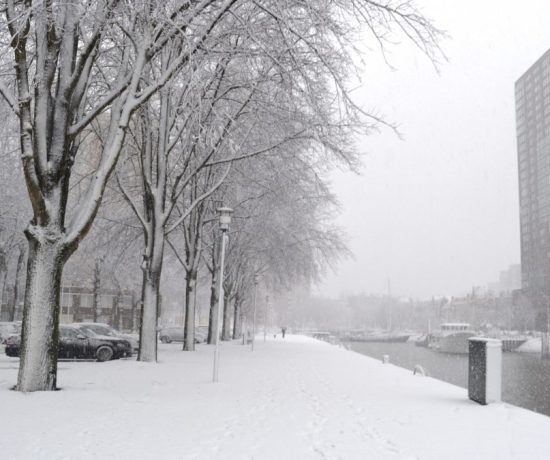 Things To Do In Rotterdam in Winter - snow walks!