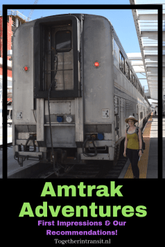 Travel on the Amtrak while exploring the US! Click to read all about our experience and tips for your first time