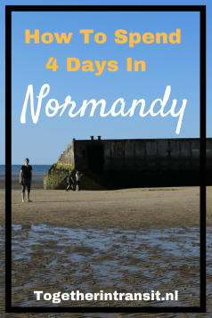 DDAY 4 day Itinerary Normandy France togetherintransit.nl