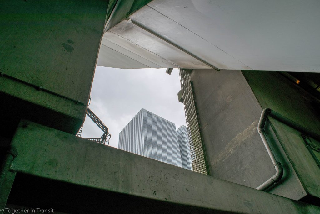 Under the Erasmusbrug on the Day of Architecture Rotterdam 2018