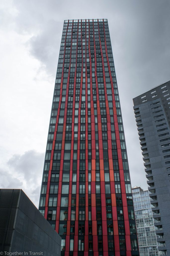 The Red Apple on the Day of Architecture Rotterdam 2018