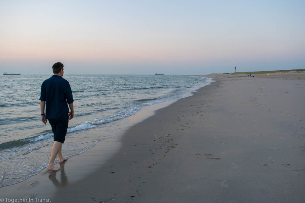 Living Abroad A brit in the Netherlands - Beach walk at the Maasvlakte 2
