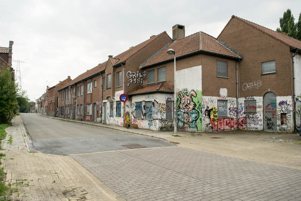 Abandoned Ghost Town Doel in Belgium