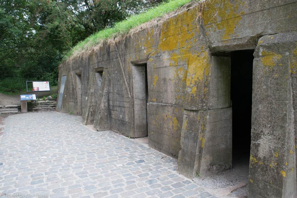Bunker Dressing station in Ypres, Belgium