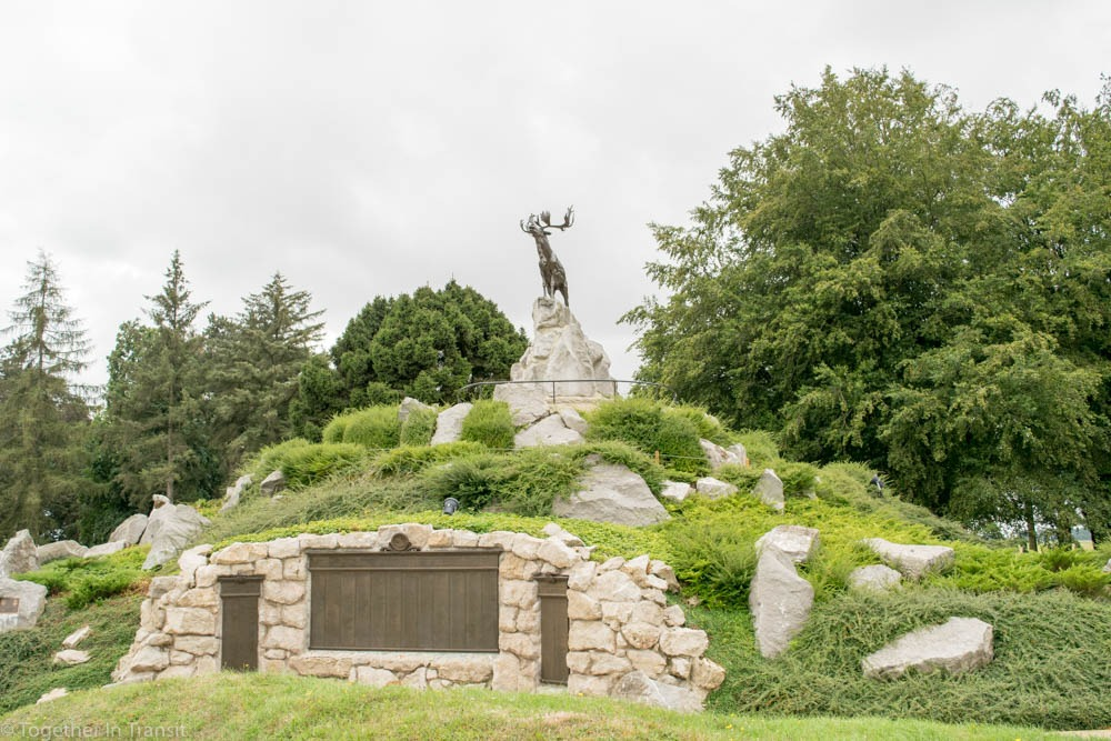 Beaumont-Hamel Newfoundland Memorial that we visited during our stay in Albert, France.