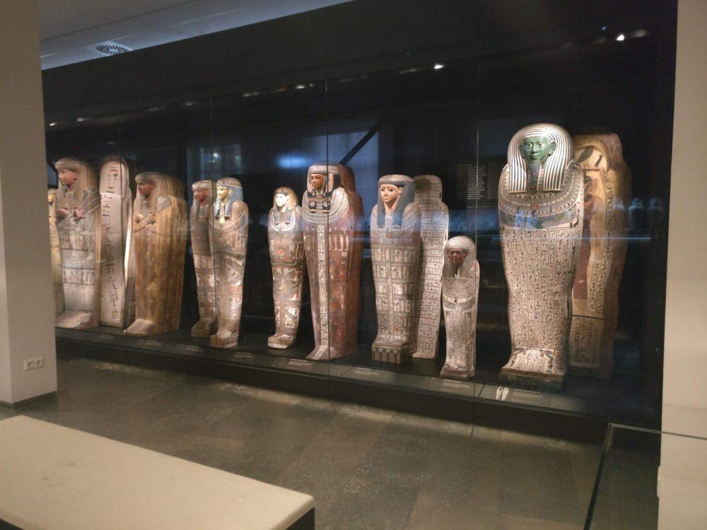 Egypt Planning - mummy coffins