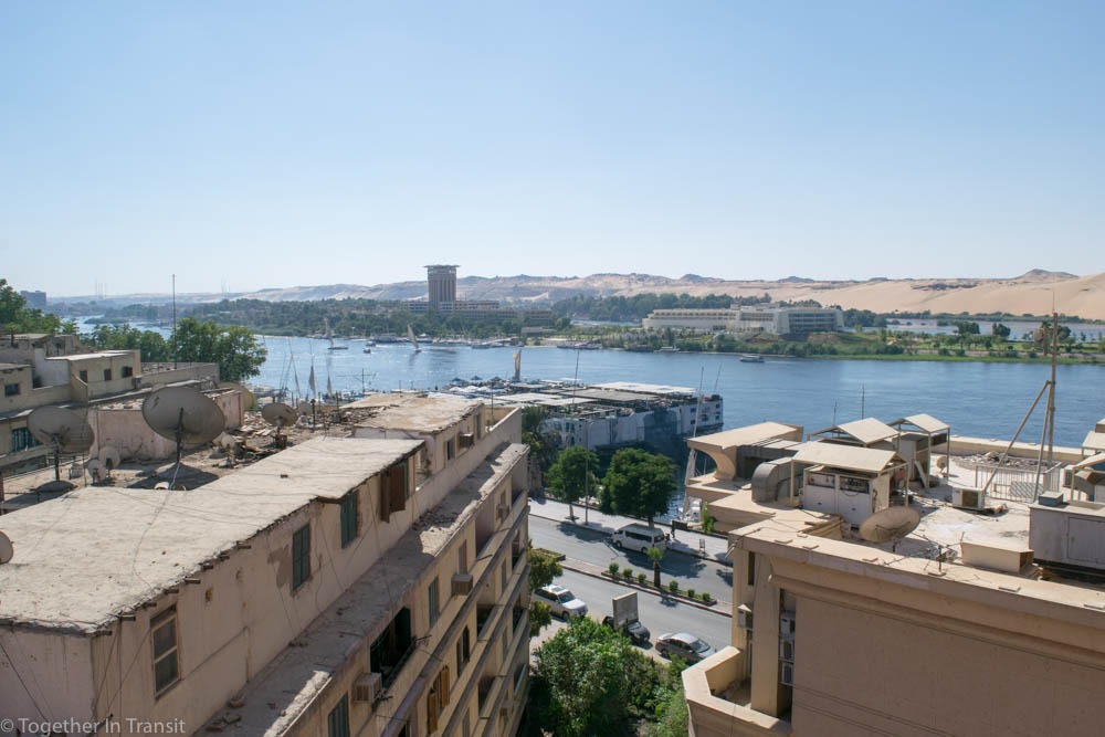 Where to stay in Egypt - Aswan Citymax Hotel our view