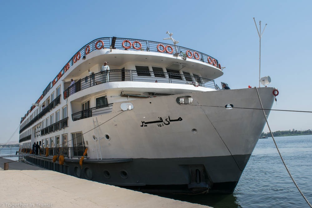 Where to stay in Egypt - Our MS Mayfair Nile Cruise