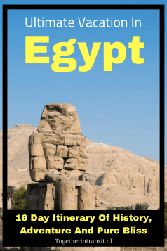 Plan your Ultimate Egypt Vacation with help from what we explored with 16 days! Visiting temples, tombs and of course the pyramids are a must.