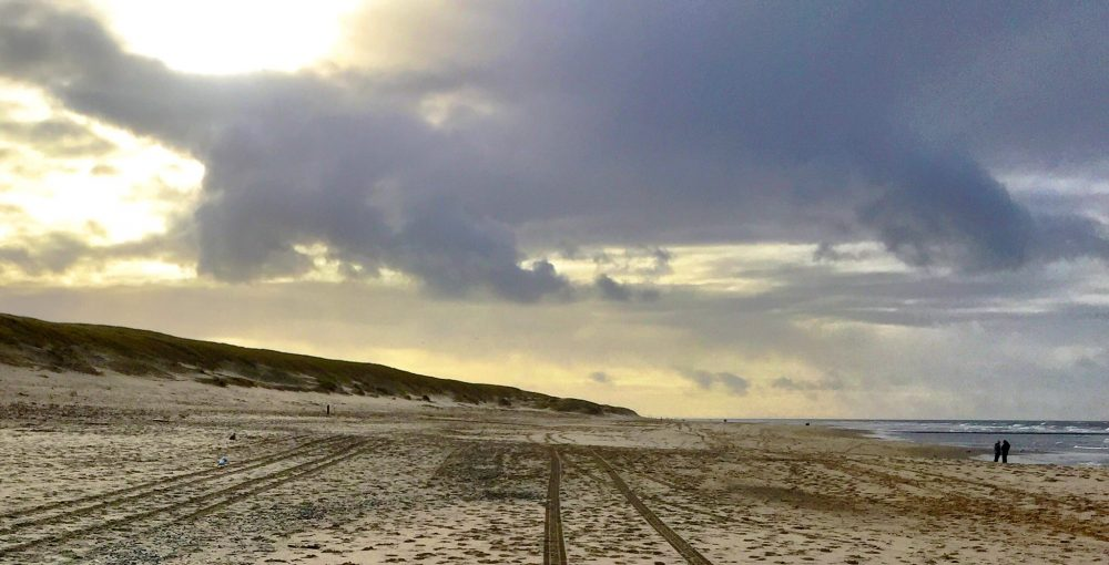 Weekend getaway ideas in the Netherlands - A walk on the beach on the island of Texel.