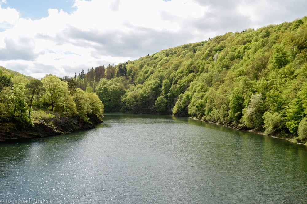 Head into the nature at this peaceful Eifel National Park in West Germany. You can explore the former Nazi training camp as well as hike a popular round route like we did! #nationalpark #eifel #germany #travel