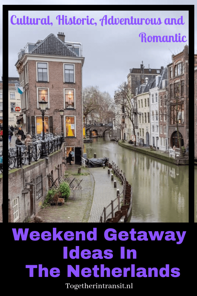 We have published an awesome list of Weekend Getaway Ideas In The Netherlands! There are many cultural, historic, adventurous and romantic locations for you to discover. #Netherlands #travel