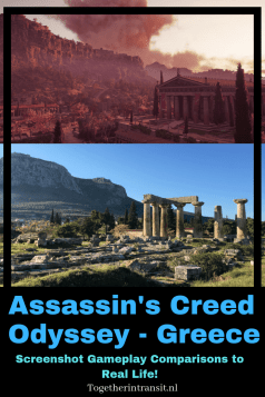 Walk the historical streets of Greece on Assassin's Creed Odyssey! This real life comparison shows how the gameplay matches real life in Athens, Olympia and more!