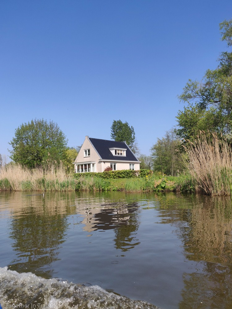 A cute house on the Rotte River