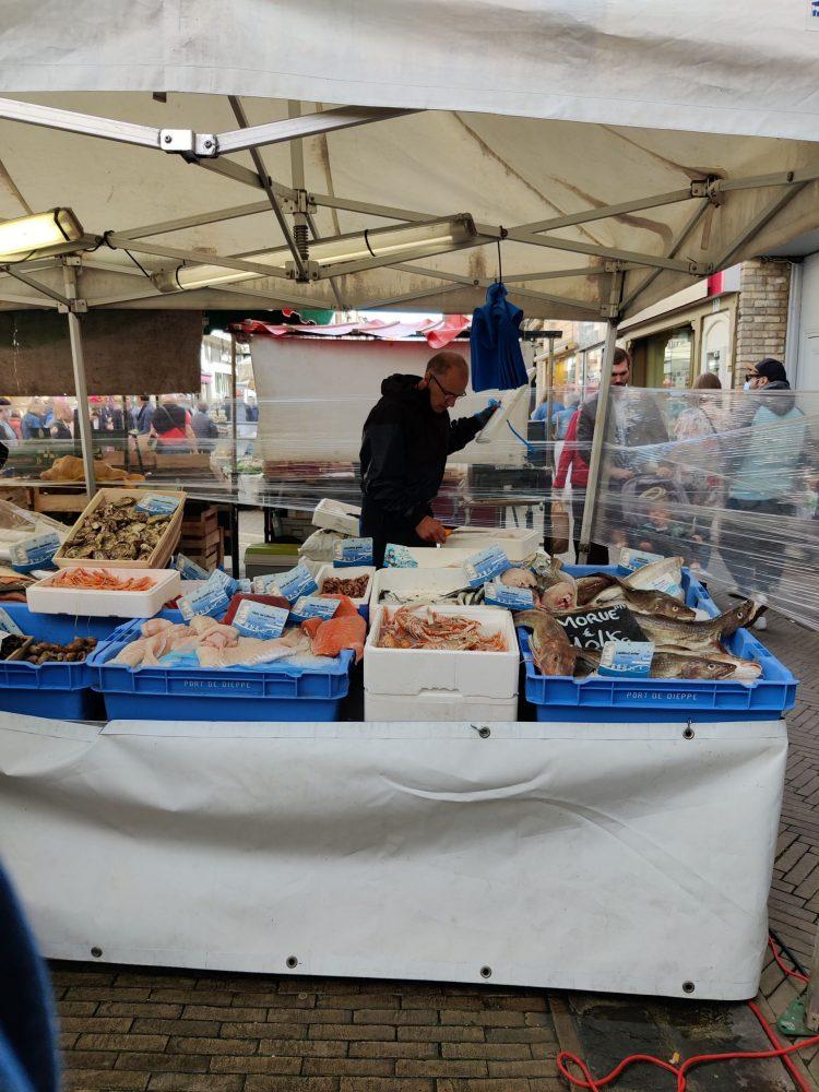 Market in Dieppe