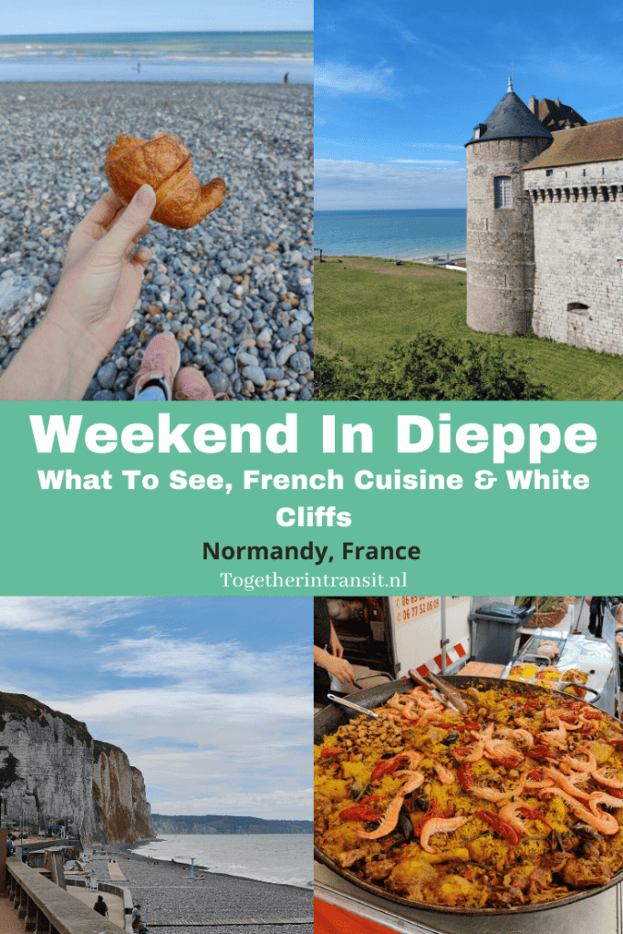 Weekend In Dieppe France: What To See, French Cuisine & White Cliffs - Check out this post sharing top things to do and see during a visit to Dieppe on the Normandy Coast. #travel #vacation #Dieppe #france #frankrijk #reizen #normandy #normandie