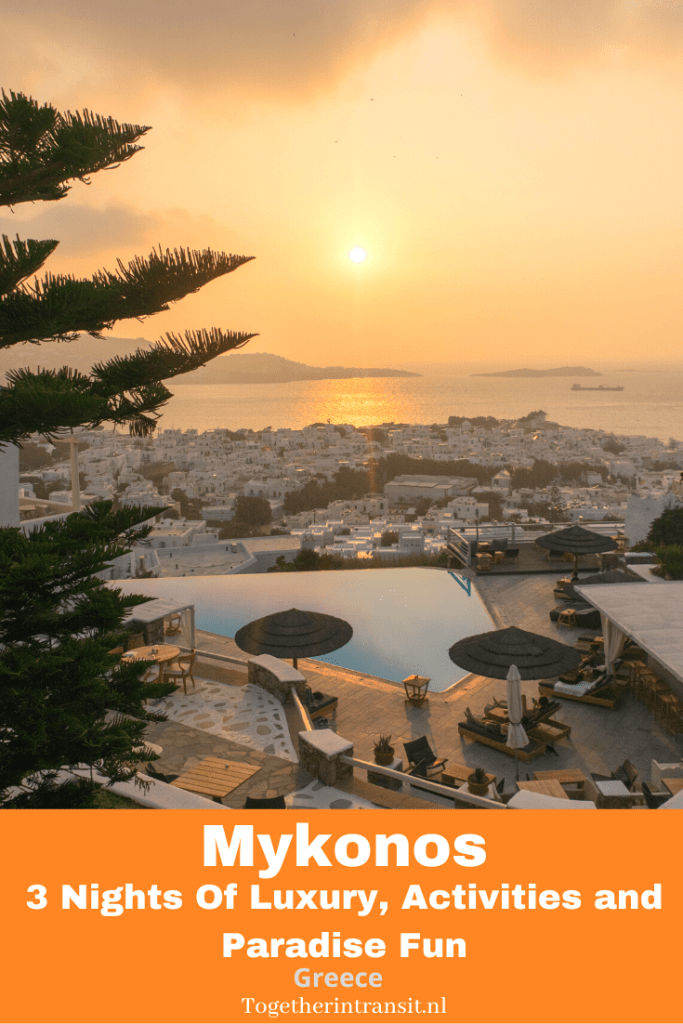 Check out my post about spending 3 beautiful luxurious nights on the Greek island of Mykonos. This post includes information about the historical day trip activity to Delos that you can do too! #travel #Mykonos #greece #vacation #reizen #griekenland