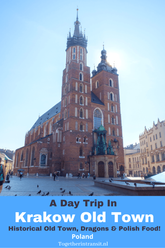 Pretty Poland_ A Day Trip In Krakow Old Town www.togetherintransit.nl #travel #poland #krakow #vacation #daytrip (1)