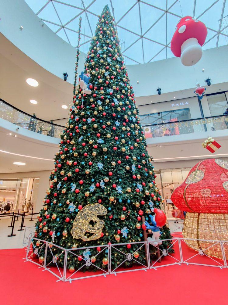 Christmas Smurf Tree