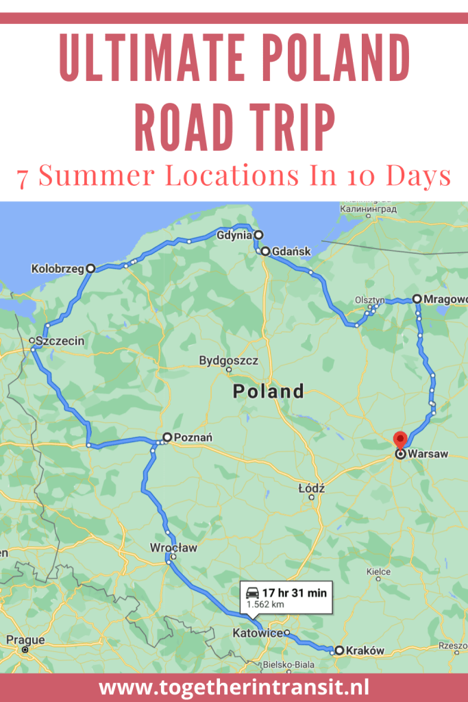 An Ultimate Poland Road Trip is an experience that everyone should enjoy at least once. These 7 beautiful summer locations are all worth visiting within a 10 day route* and we hope it inspires you!