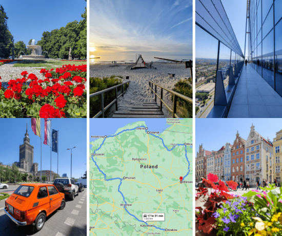 Ultimate Poland Road Trip - 7 destinations in 10 days