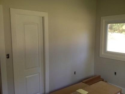 updated closet wall